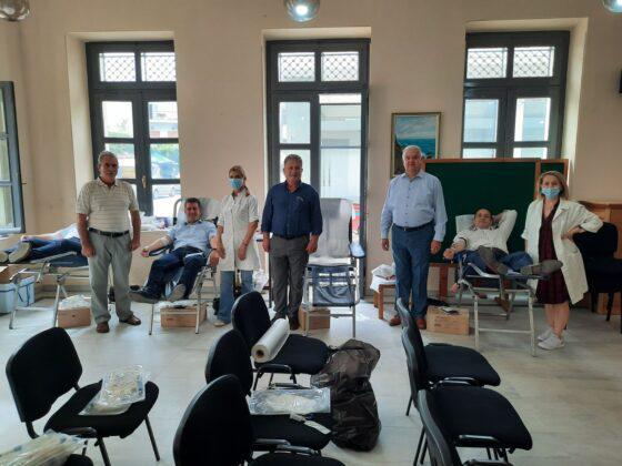 ΑΧΑΪΑ: Η εθελοντική αιμοδοσία των παρατάξεων του Δήμου στην Κάτω Αχαΐα