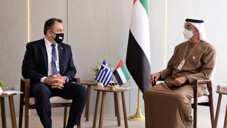 Αποτέλεσμα εικόνας για Ο ΥΕΘΑ για τη συνάντηση του με το Διάδοχο Πρίγκηπα του Αμπού Ντάμπι